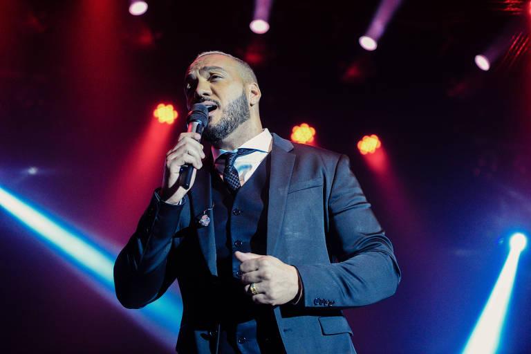 O cantor Belo