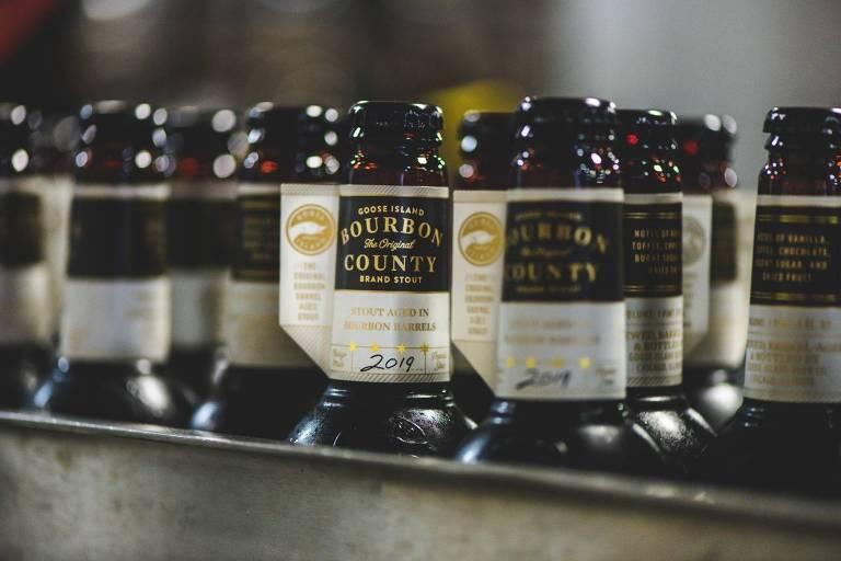 Versão 2019 da Bourbon County, imperial stout da Goose Island