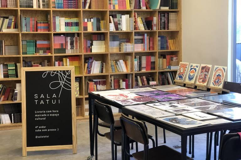 Sala Tatuí, livraria na região central