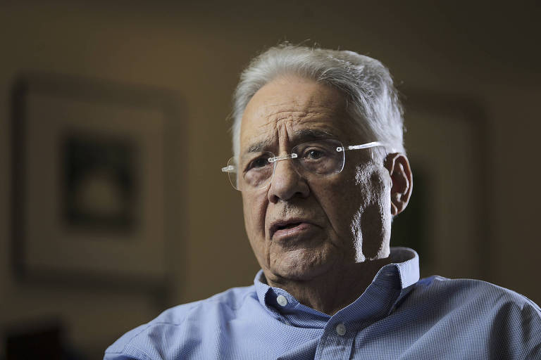 O ex-presidente Fernando Henrique Cardoso é um dos signatários da carta