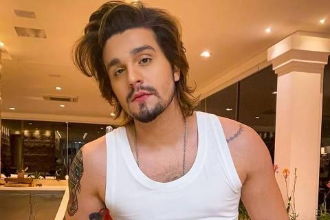 O cantor Luan Santana