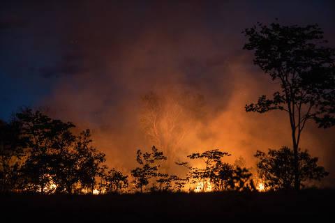 Governo manda Força Nacional para conter incêndios em Mato Grosso
