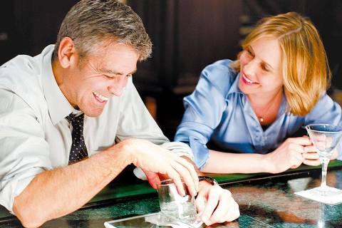 ORG XMIT: 080001_0.tif Cinema: o ator George Clooney e a atriz Vera Farmiga em cena de