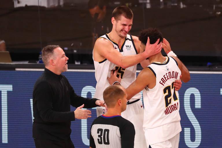 Denver Nuggets é surpresa para todos na NBA, menos para o próprio time