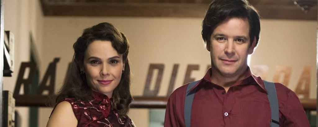 Saulo ( Murilo Benicio ) e Veronica  ( Debora Falabella ) em 'Nada Será Como Antes?'