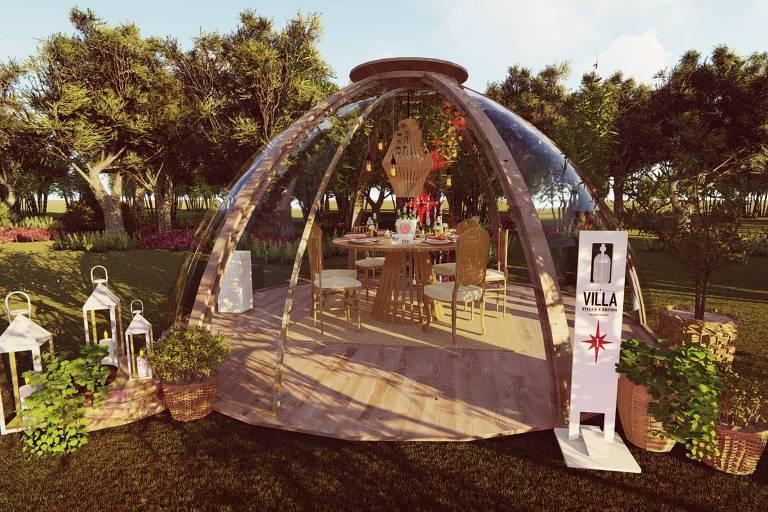 Projeto do evento Villa Stella, que acontece no Morumbi