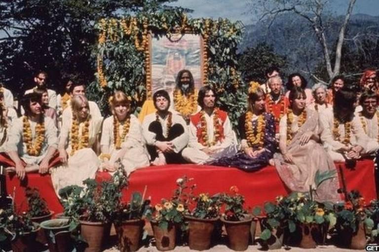 O encontro entre um mochileiro 'desiludido' e os Beatles na Índia