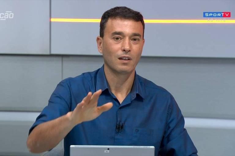 André Rizek, apresentador dos canais Sportv