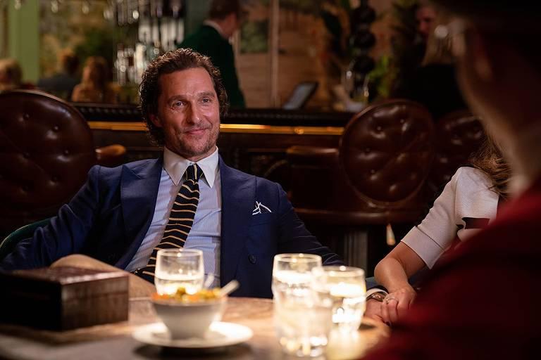 """Matthew McConaughey em cena de """"Magnatas do Crime"""" (2019), de Guy Ritchie"""