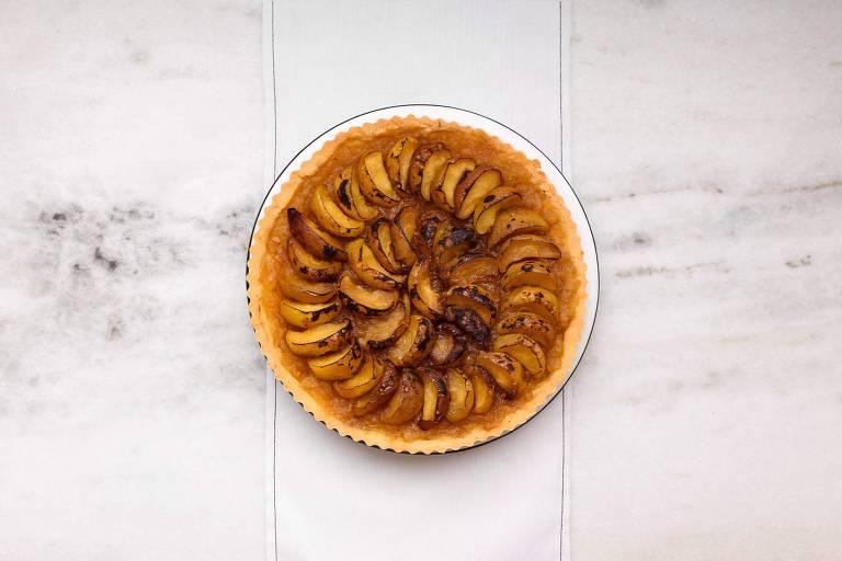 Uma Simples Torta de Maçã, criação da chef Ana Soares, do Mesa 3, para o Rosh Hashaná