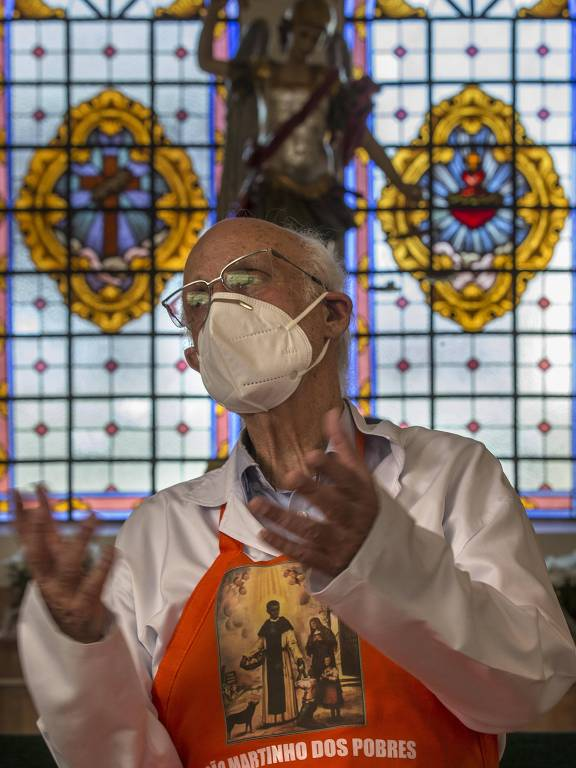 Padre Julio Lancellotti, da pastoral do Povo de Rua, vem recebendo ameaças