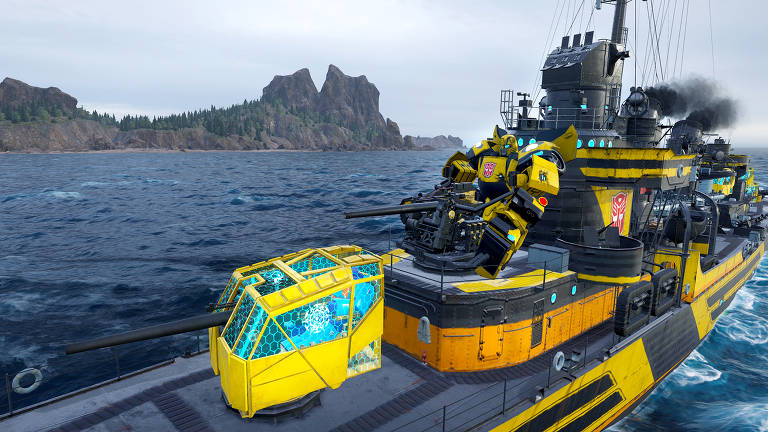 'Transformers' chegam em 'World of Warships' e 'World of Warships: Legends'