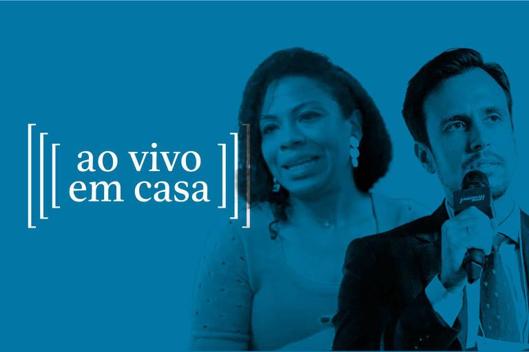 Ao vivo em casa com Gabriela Cruz eMarcelo Issa