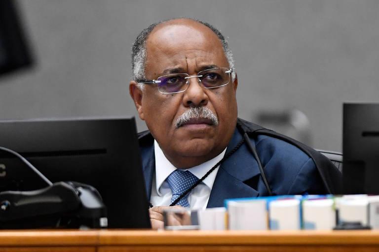 Ministro Benedito Gonçalves, em sessão do STJ (Superior Tribunal de Justiça), em 9 de fevereiro deste ano