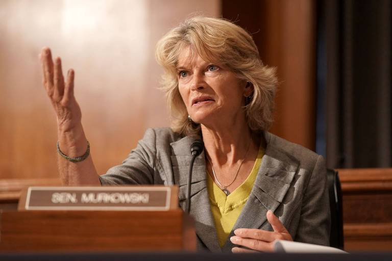 A senadora pelo Alasca, a republicana Lisa Murkowski