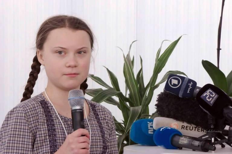 Greta Thumberg em O Fórum