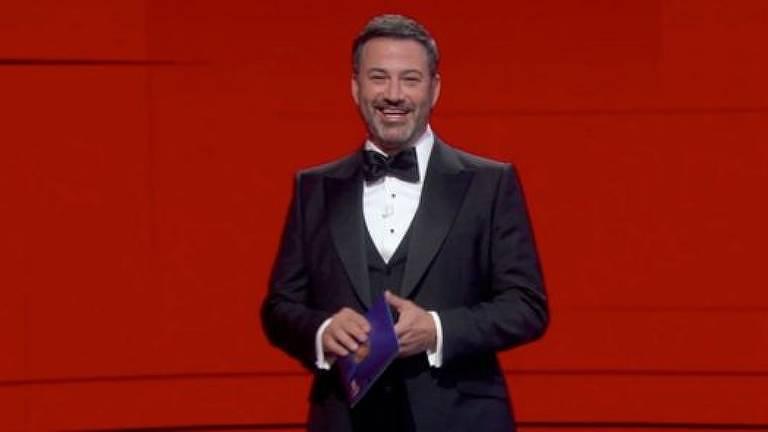 O apresentador do evento deste ano foi Jimmy Kimmel