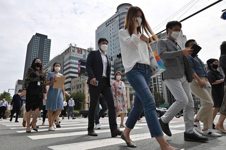 Na Coreia do Sul, a Covid-19 vem acompanhada do risco de bullying na internet