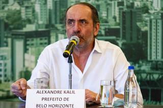 COLETIVA DE IMPRENSA PREFEITO ALEXANDRE KALIL