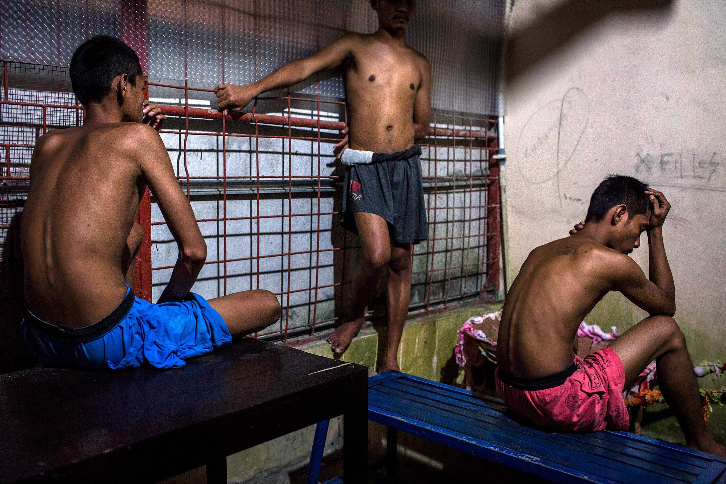 Centro de reabilitação para dependentes de drogas em Purbalingga, na Indonésia