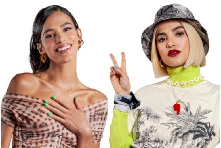 Manu Gavassi e Bruna Marquzine são as apresentadoras do MTV Miaw deste ano