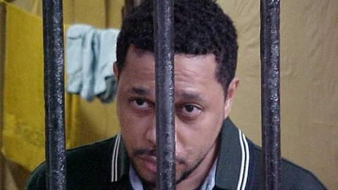ORG XMIT: 410201_1.tif O traficante Elias Pereira da Silva, o Elias Maluco preso na carceragem do Batalhão de Choque da Polícia Militar do Rio de Janeiro (RJ). (Foto: Secretaria de Segurança Pública do Estado do Rio de Janeiro-SSP-RJ/Divulgação)