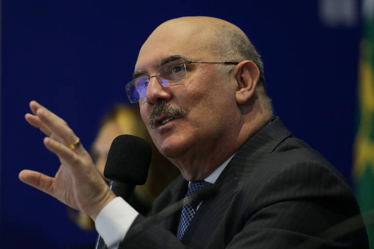 Ministro da Educação, Milton Ribeiro, se reuniu com reitores para discutir volta às aulas presenciais