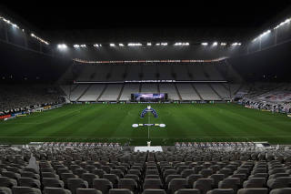 Brasileiro Championship - Corinthians v Bahia