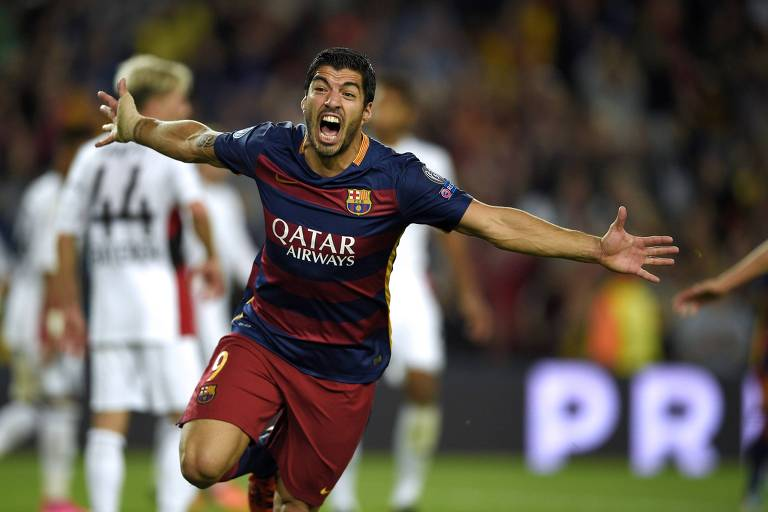 Suárez conquistou 13 títulos com a camisa do Barcelona
