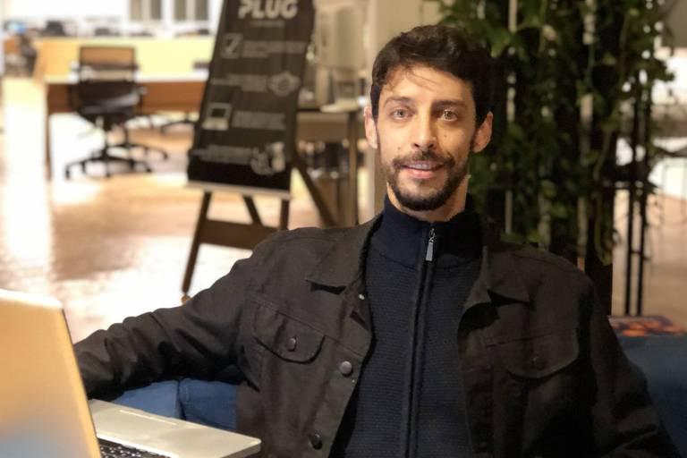 Cayrê Abuassali, sócio do Plug Coworking