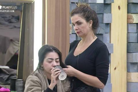 Luiza Ambiel cuida de Mirella