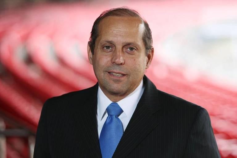 Roberto Natel, candidato da oposição à presidência do São Paulo Futebol Clube