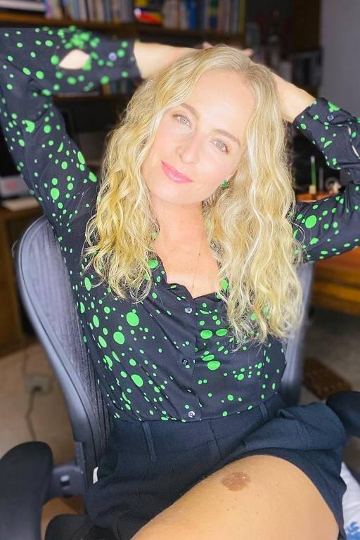 Imagens da apresentadora Angélica