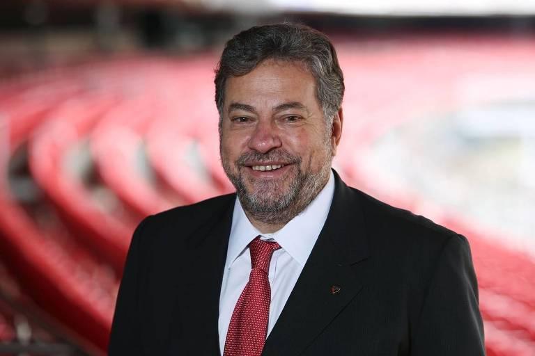 Julio Casares, ex-diretor de marketing e candidato à presidência do São Paulo Futebol Clube