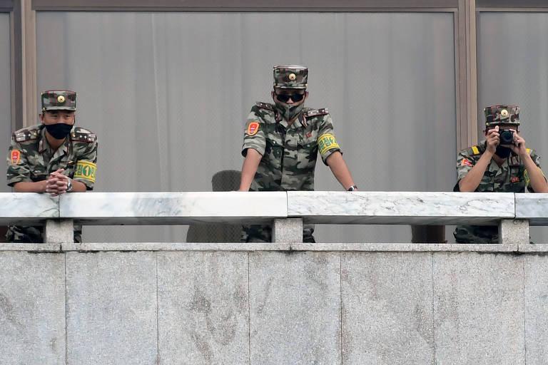 Coreia do Norte matou e queimou corpo de sul-coreano, diz Seul
