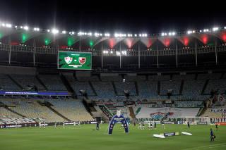 Brasileiro Championship - Fluminense v Flamengo