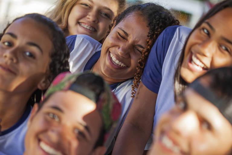 Cena do documentário Atravessa a Vida, do diretor João Jardim, filmado na escola Milton Dortas, no interior de Sergipe