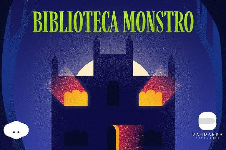 """Podcast infantojuvenil """"Biblioteca Monstro"""", de Mário Márcio Bandarra, diretor da globo por 43 anos"""