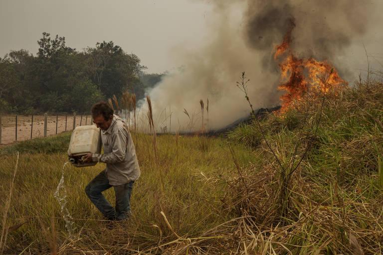 Fazendeiro perde 6.000 hectares no Pantanal