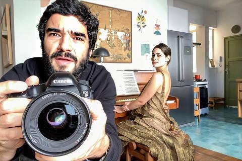 Caio Blat e Luisa Arraes em Amor e Sorte