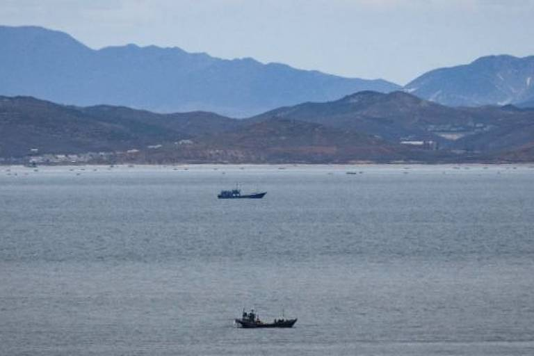 A ilha sul-coreana de Yeonpyeong fica perto da fronteira com a Coreia do Norte