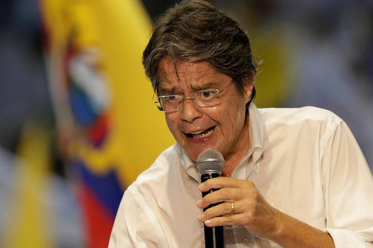 Guillermo Lasso é um dos candidatos à eleição presidencial no Equador, pela sigla Creo (Creando Oportunidades)