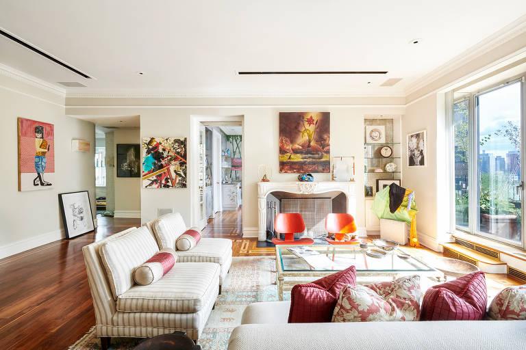 A cobertura de John Lennon em Nova York, onde morava com a amante May Pang, está à venda por US $ 5,5 milhões