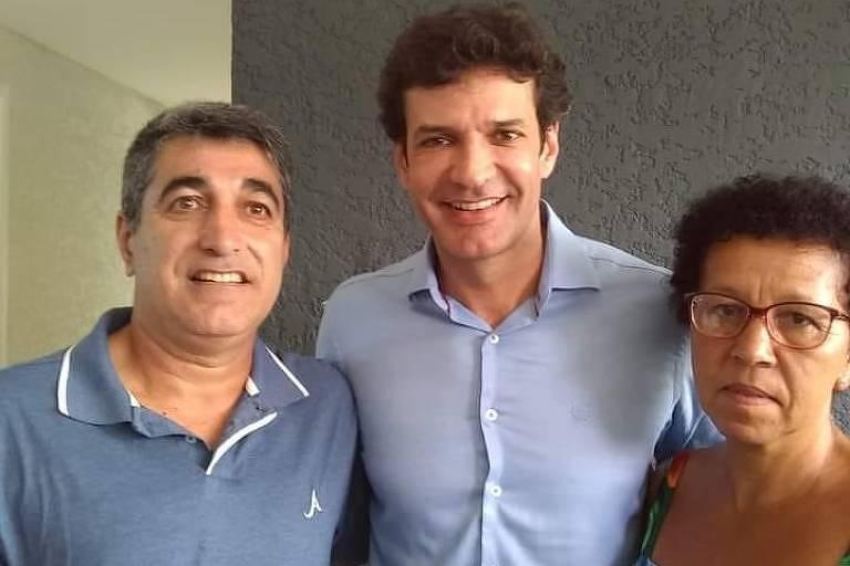 Wal e o ministro do Turismo, Marcelo Álvaro Antônio