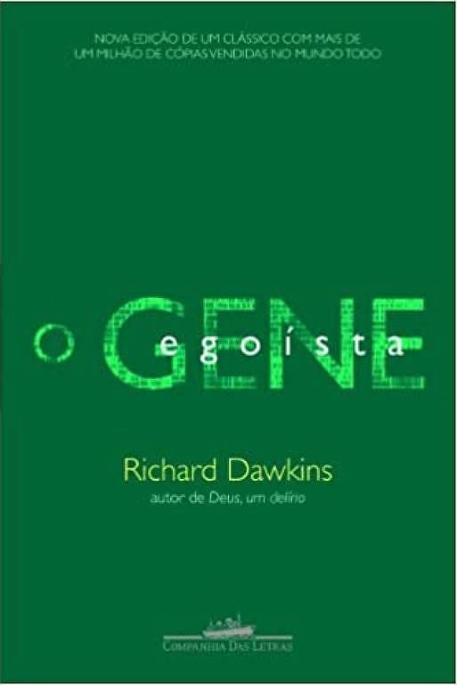 Capa do livro 'O Gene Egoísta', de Richard Dawkins
