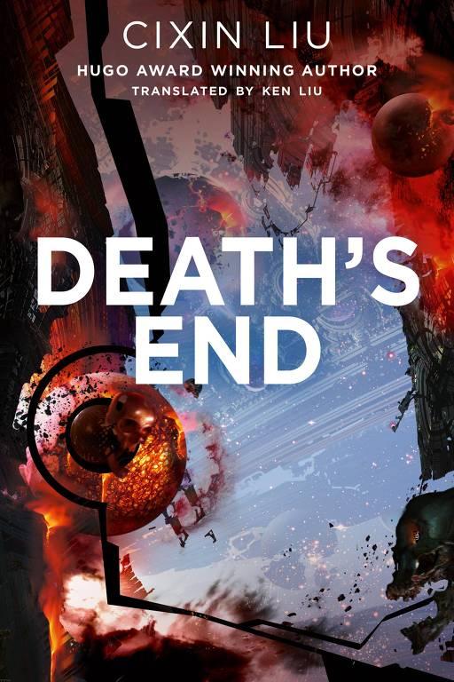 capa da edição americana de Death's End