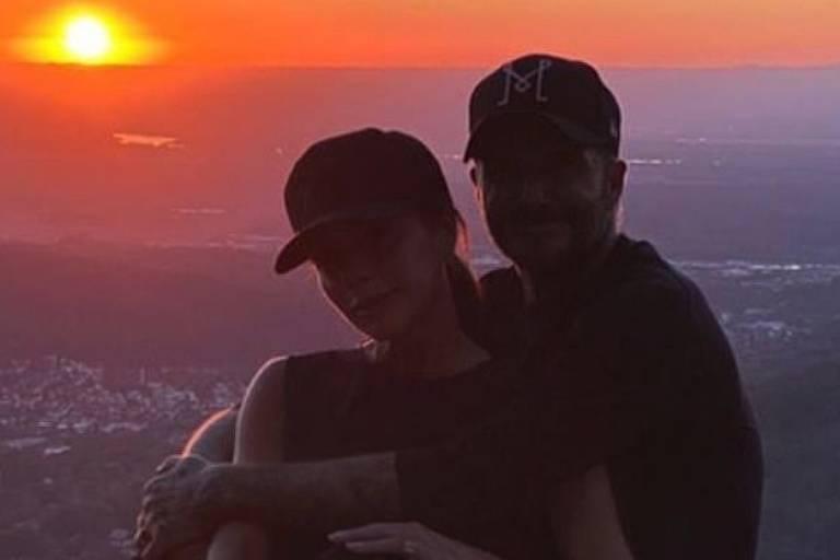 Victoria e David Beckham se hospedam em hotel de luxo