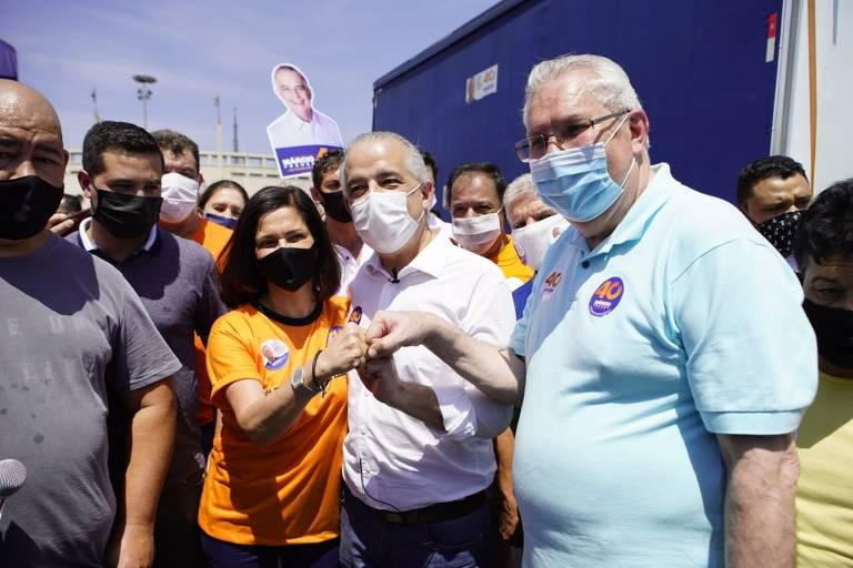 Candidatos a prefeito de São Paulo em campanha pela cidade