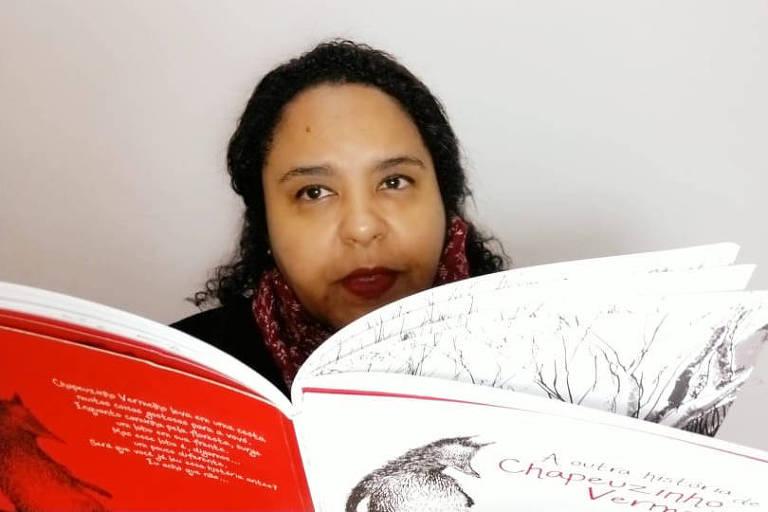 Professora Viviam Ferreira Penteado, que dá aulas no Colégio Vera Cruz