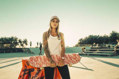 A skatista brasileira Leticia Bufoni, 27, passou dois meses viajando pela Europa durante a pandemia praticando modalidades diferentes e se reconectando com o esporte